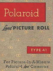 Polaroid Land Picture Roll Type 41 Film Box